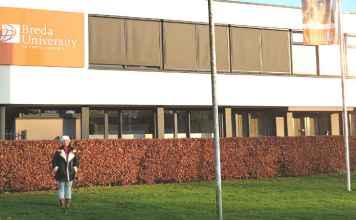 Bruna Mello Rangel na Universidade de Breda | Foto: Bruna Mello Rangel