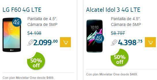 Promoción de Smartphones 50 Off en Movistar para Navidad 4