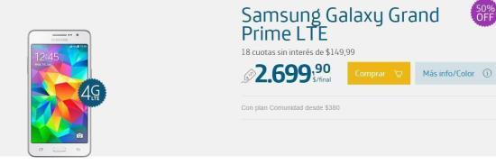 Promoción de Smartphones 50% Off en Movistar para Navidad 1