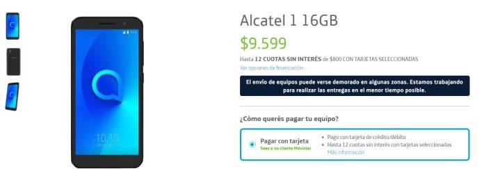 Alcatel 1 16GB