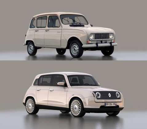 Renault 4 2020, Vuelve un icono de Renault como un Prototipo