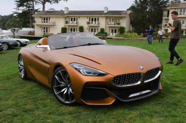 El nuevo BMW Z4 Concept, mira lo que es la nueva maquina Alemana