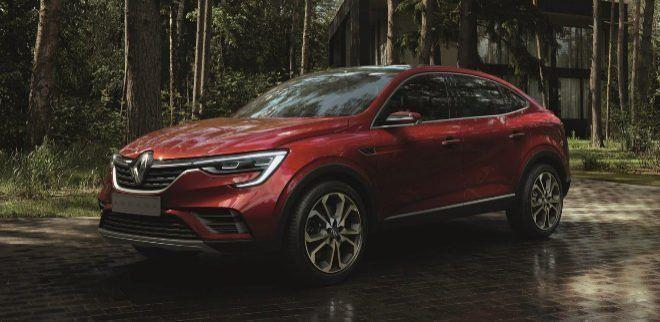 Renault Arkana es revelado antes del Salón de Moscú 1