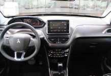 Interior Peugeot 2008 2020