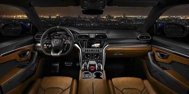 Interior Lamborghini Urus 2020