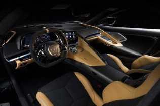 Interior Corvette 2020