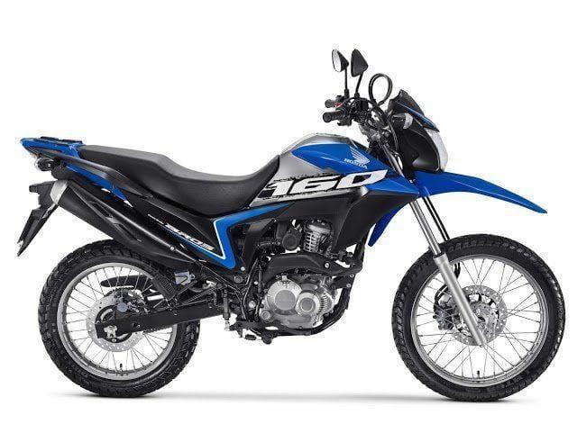 Esta la nueva Honda Bros 160 2020