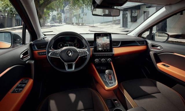 Interior Renault Captur 2021