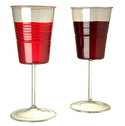 Verres Vin Effet Plastique Blog Dco Design