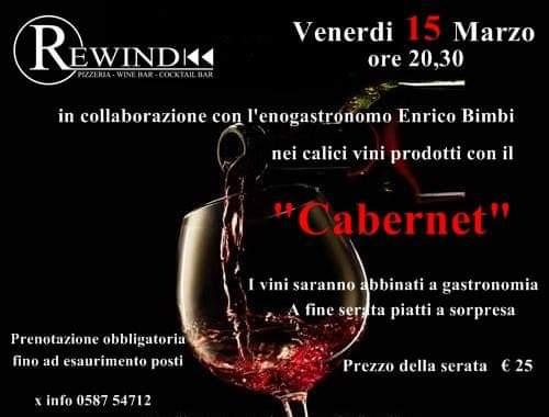 Vitigni e Vini, II tappa della rassegna da Rewind dedicata ai Cabernet