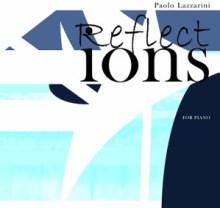 Copertina del CD Reflections di Paolo Lazzarini