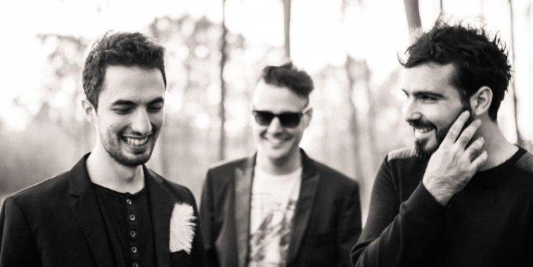 I tre membri dei The Panicles