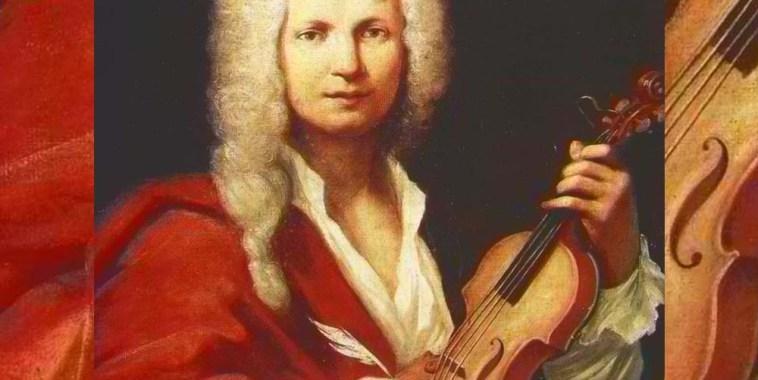 Antonio Vivaldi ritratto prete rosso con violino