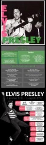 Elvis Presley infografica 60 anni primo disco