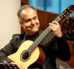 Giorgio Albiani del DuotanGO a Italien Musiziert