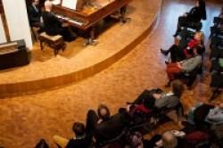 Francesco Prode: il pubblico attento di ItalienMusiziert, Stoccarda ascolta la sua performance