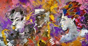 Francesco Toraldo quadro jazzisti