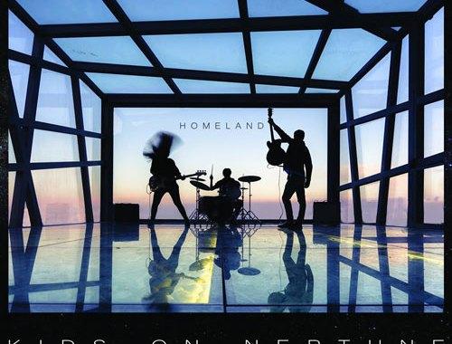 Kids on Neptune Homeland copertina disco