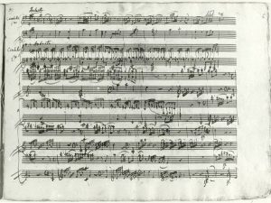 Mozart manoscritto sonata k448