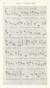 Adeste Fideles dal manoscritto Jabobite, seconda pagina