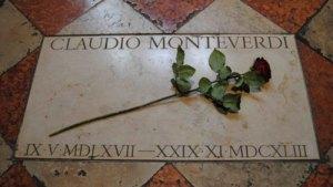 Claudio Monteverdi tomba Venezia