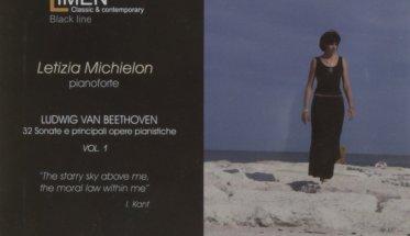 Letizia Michielon: Ludwig Van Beethoven integrale copertina CD