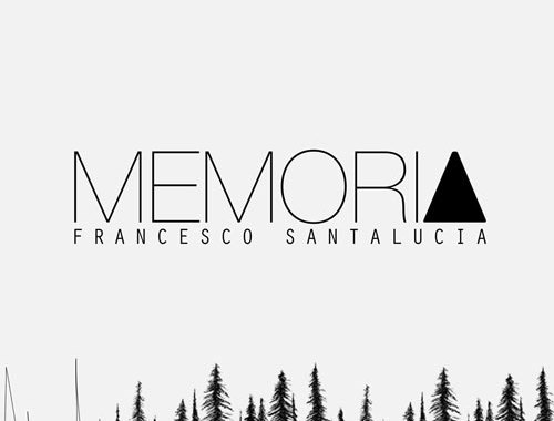Francesco Santalucia MEMORIA copertina Cd