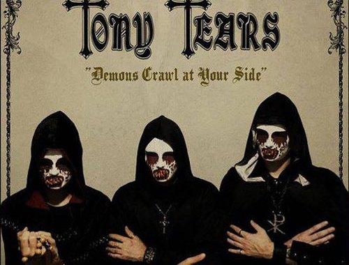 Tony Tears Demons Crawl At Your Side copertina disco