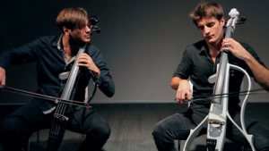 2cellos violoncelli rock