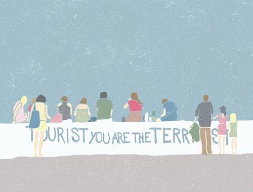 Ratafiamm - Tourist you are the terrorist copertina disco