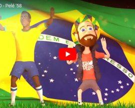 Ginokiello - Pelé '58 - copertina Video