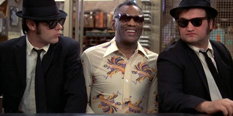 Ray Charles e i Blues Brothers Black Music