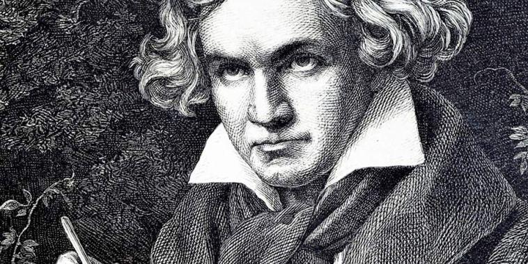 Ludwig Van Beethoven volto