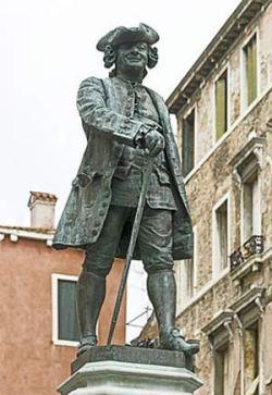 Carlo Goldoni - monumento