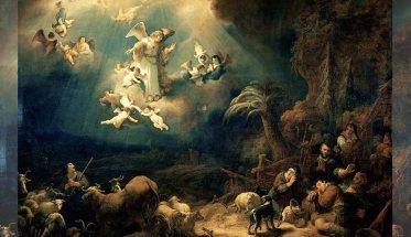 Angeli e Pastori nel quadro di Flinck