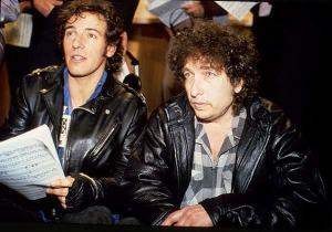 Bruce Springsteen e Bob Dylan