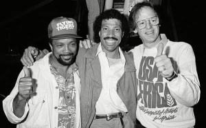 Quincy Jones, Lionel Richie e Ken Kragen