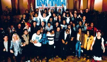 Il gruppo di USA For Africa artefice di We Are the World