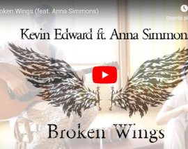 Kevin Edward, Broken Wings feat. Anna Simmons - copertina Video