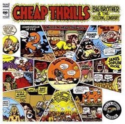 Janis Joplin, Cheap Thrills - copertina disco