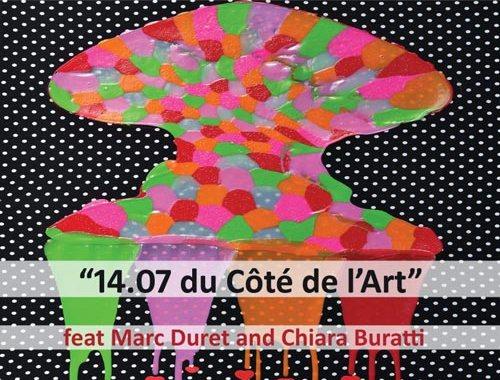 Marco Vezzoso, 14/7 Du Cote de l'Art - copertina disco