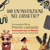 Premio Leonardo: Concorso delle Idee Innovative per la Musica - locandina