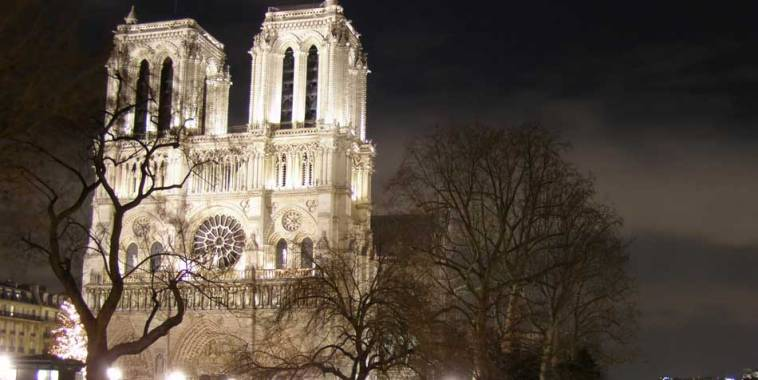 La Cattedrale di Notre Dame a Parigi