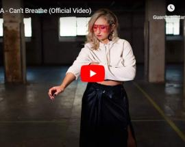 MARI A: Can't Breathe. copertina del Video