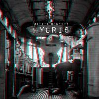 Mattia Bonetti nella copertina del suo disco Hybris