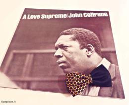 """Copertina del disco di John Coltrane """"A love Supreme"""""""