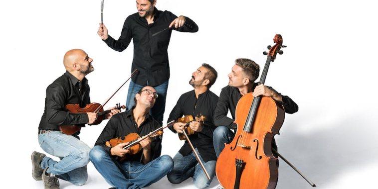 Il gruppo degli Ondanueve String Quartet
