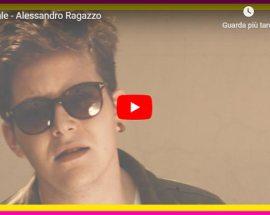 Alessandro Ragazzo nella copertina del video FRONTALE