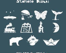 Copertina del disco di Filippo Villa: Storielle Dispari