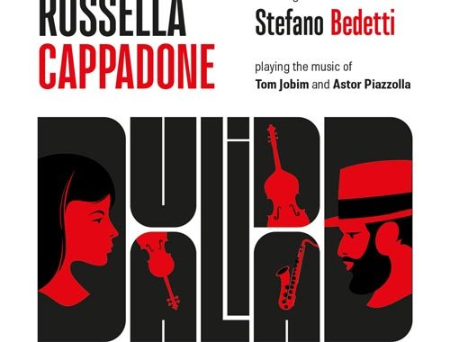 Copertina del disco DUALIDAD diRossella Cappadone